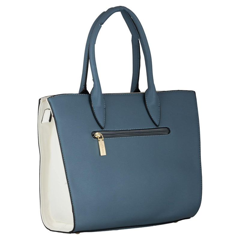 Handbag (SSB-Light Blue) - Gowma Non Leather Pvt Ltd