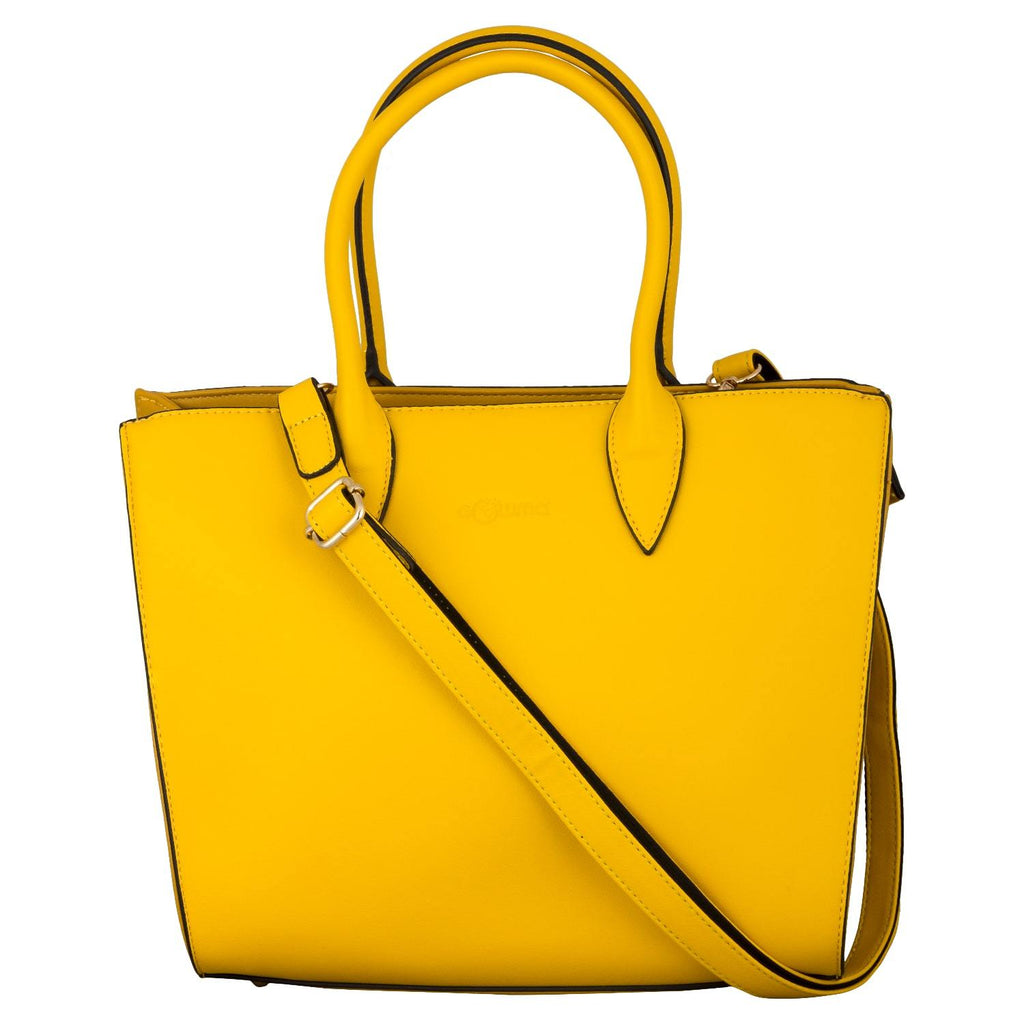 Handbag (SSB-Yellow Auramine) - Gowma Non Leather Pvt Ltd