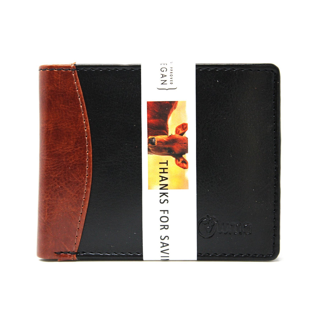 Mens wallet double color-gowma_non_leather