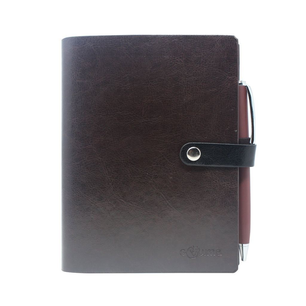 Diary with branding clip