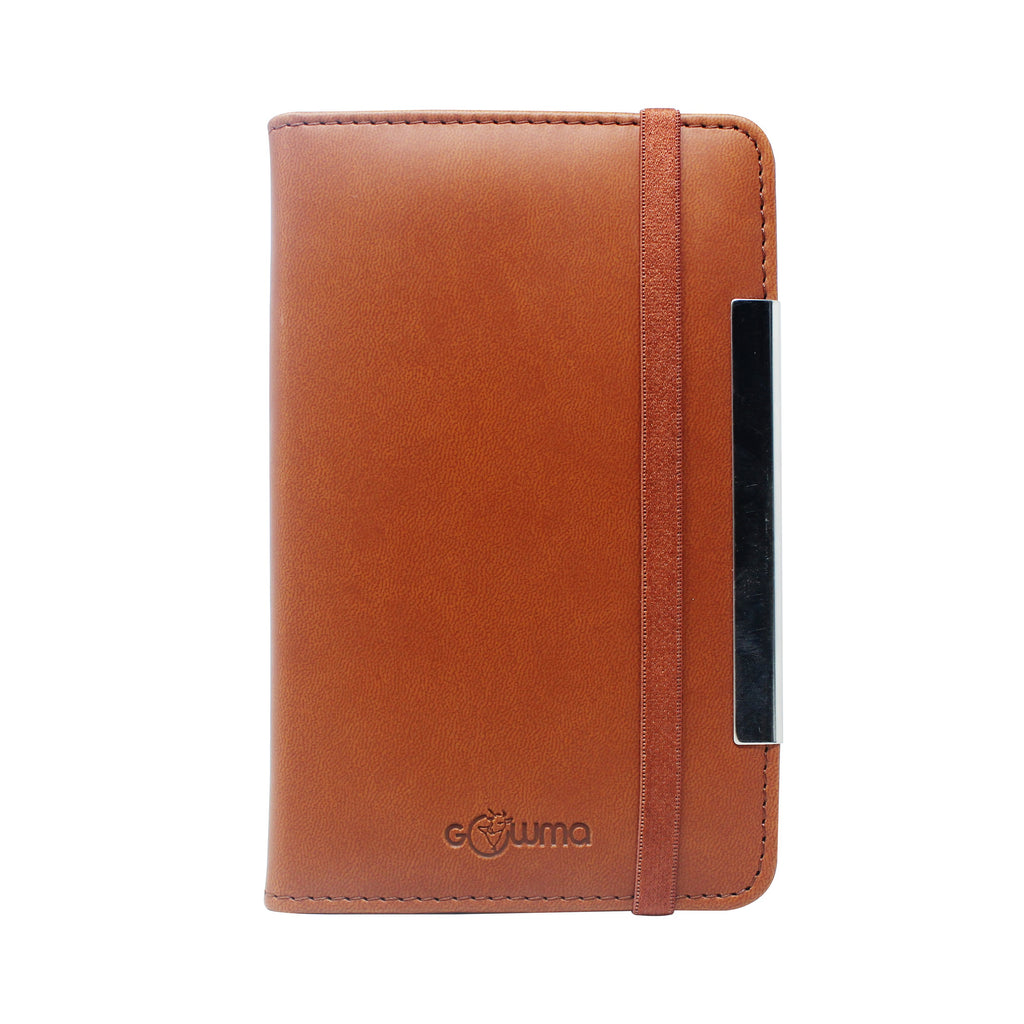 Diary - dateless with pen - light brown - Gowma Non Leather Pvt Ltd