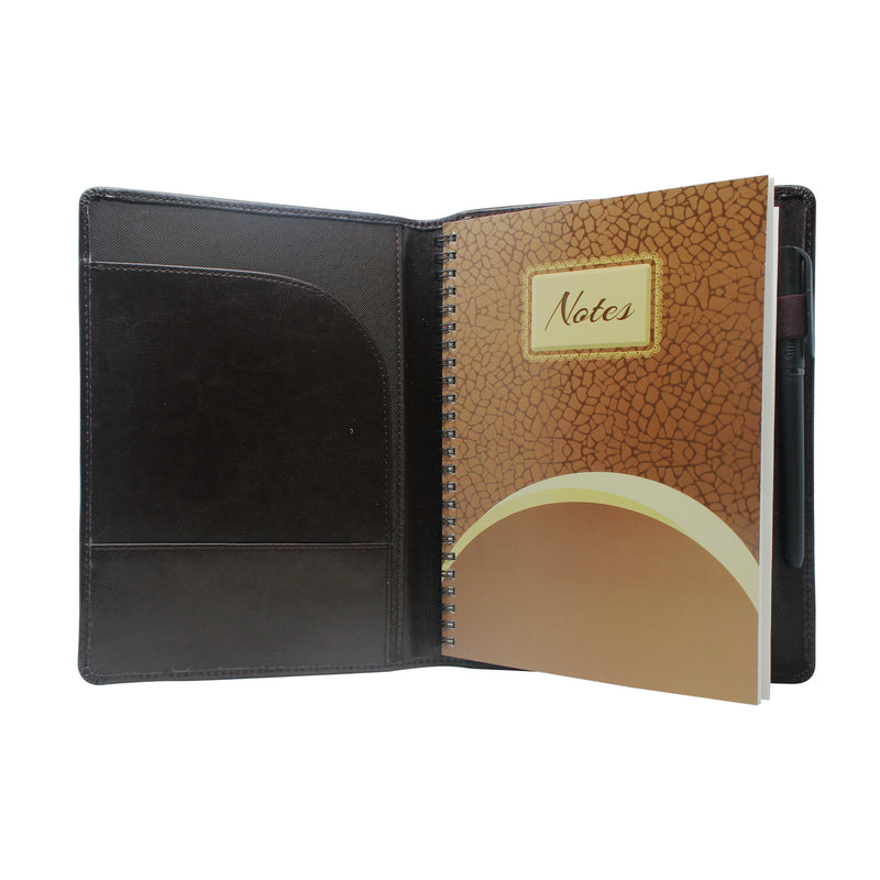 Diary - dateless wire diary with pen - Gowma Non Leather Pvt Ltd