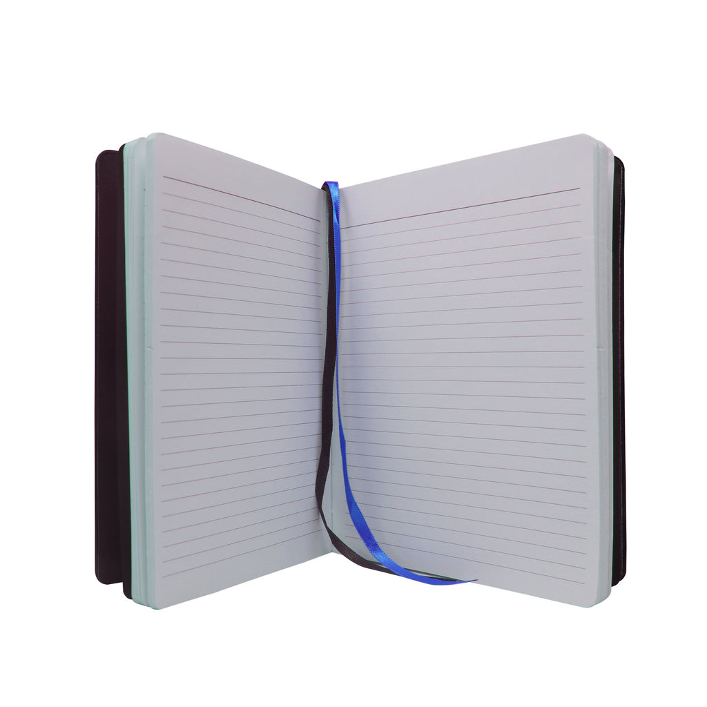 Diary - A5 dateless notebook with pen - Blue