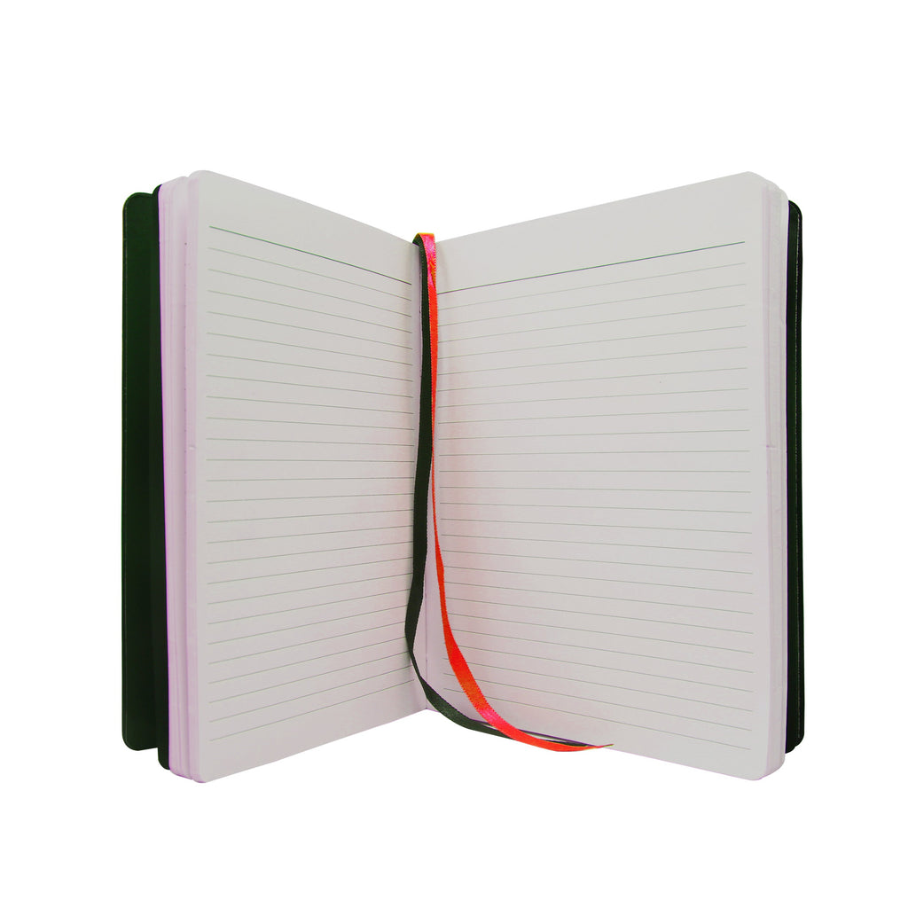 Diary - A5 dateless notebook with pen - Red