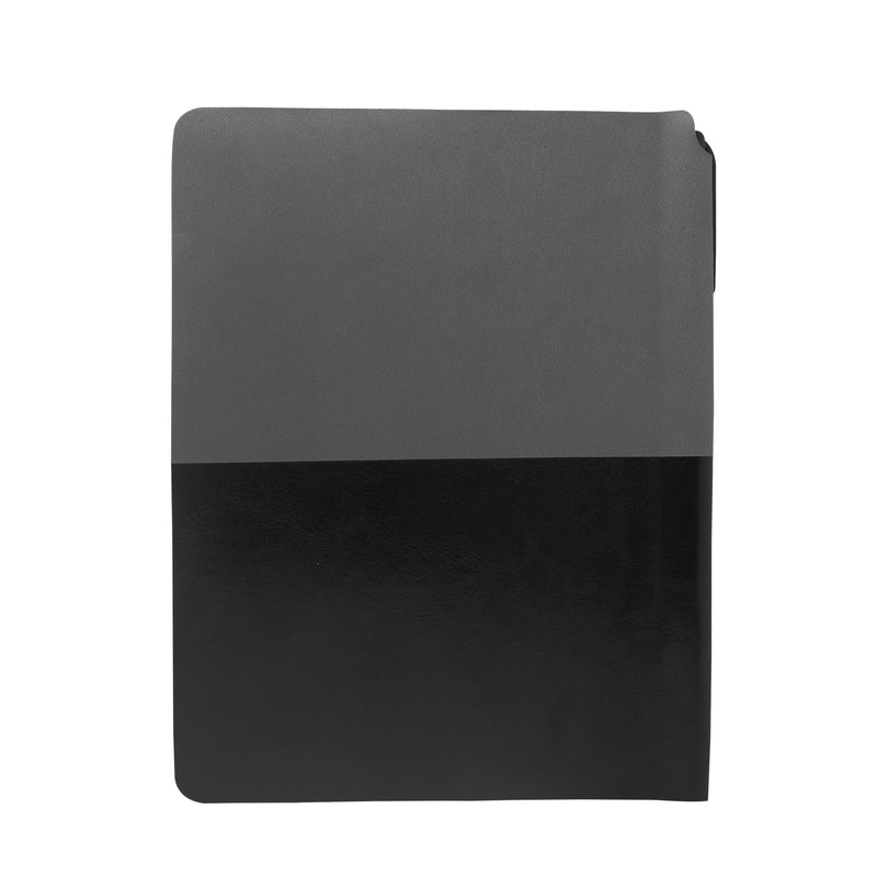 Diary - A5 dateless notebook with pen - Black - Gowma Non Leather Pvt Ltd