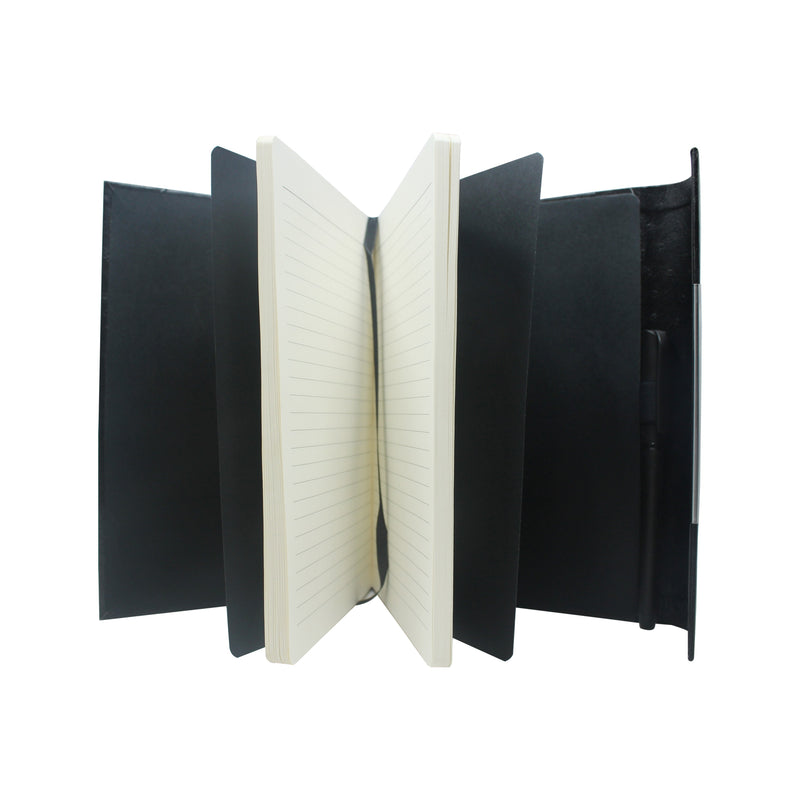Diary - A5 magnetic - design black - Gowma Non Leather Pvt Ltd