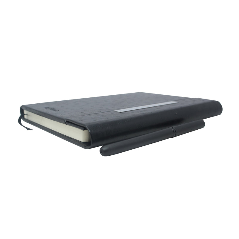 Diary - A5 magnetic - design black