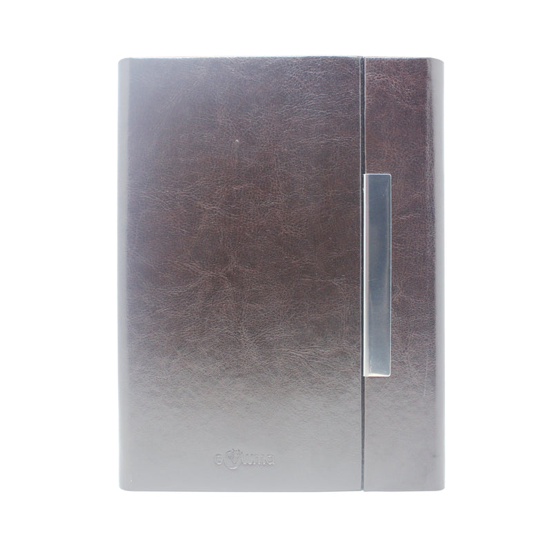 Diary - A5 magnetic - Coffee - Gowma Non Leather Pvt Ltd