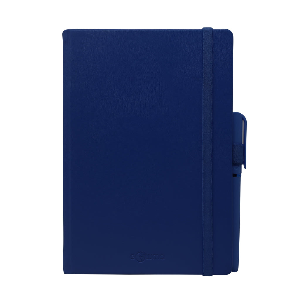 Diary - dateless diary with pen- Navy - Gowma Non Leather Pvt Ltd