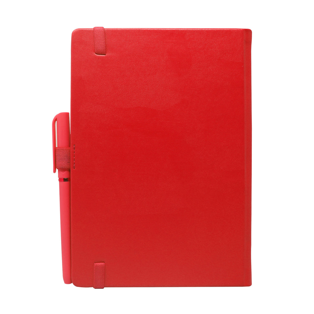 Diary - dateless diary with pen- Red