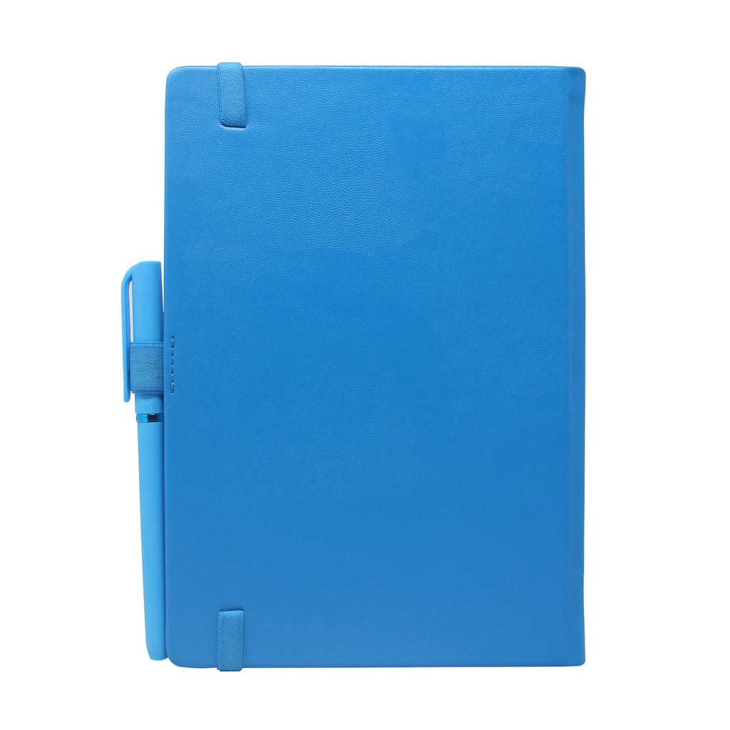 Diary - dateless diary with pen- Blue - Gowma Non Leather Pvt Ltd