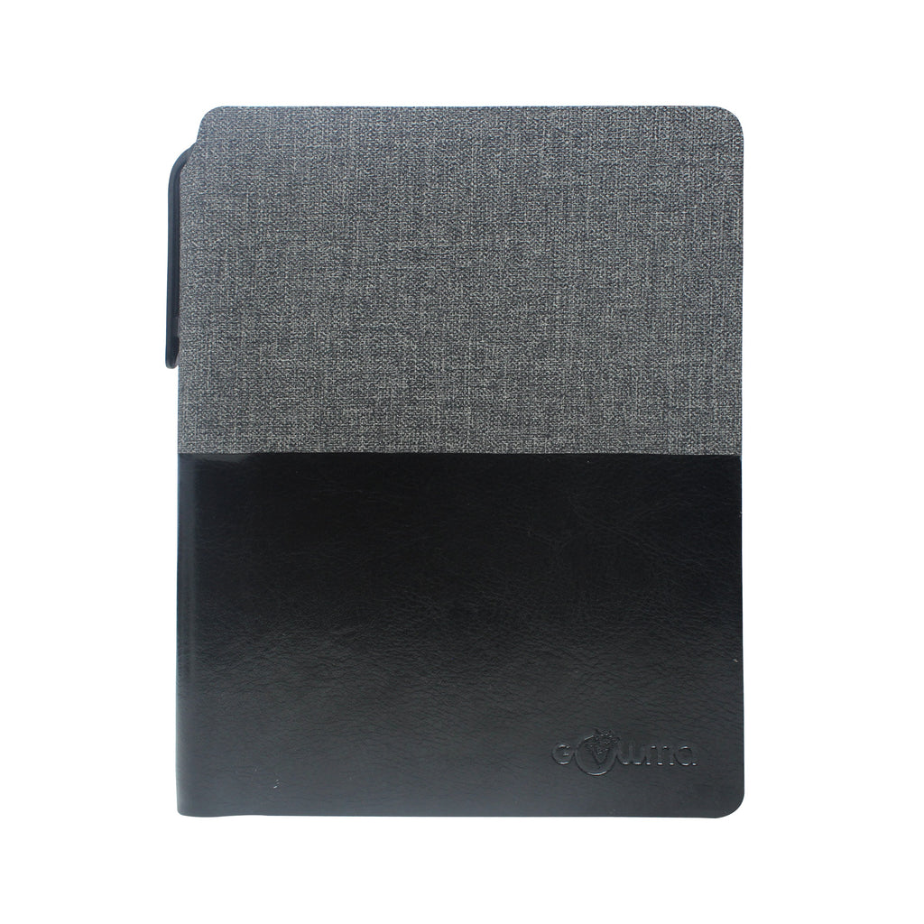 Diary - A6 dateless notebook with pen - Black - Gowma Non Leather Pvt Ltd