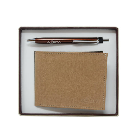 Gift Set (2 in 1) - Tan