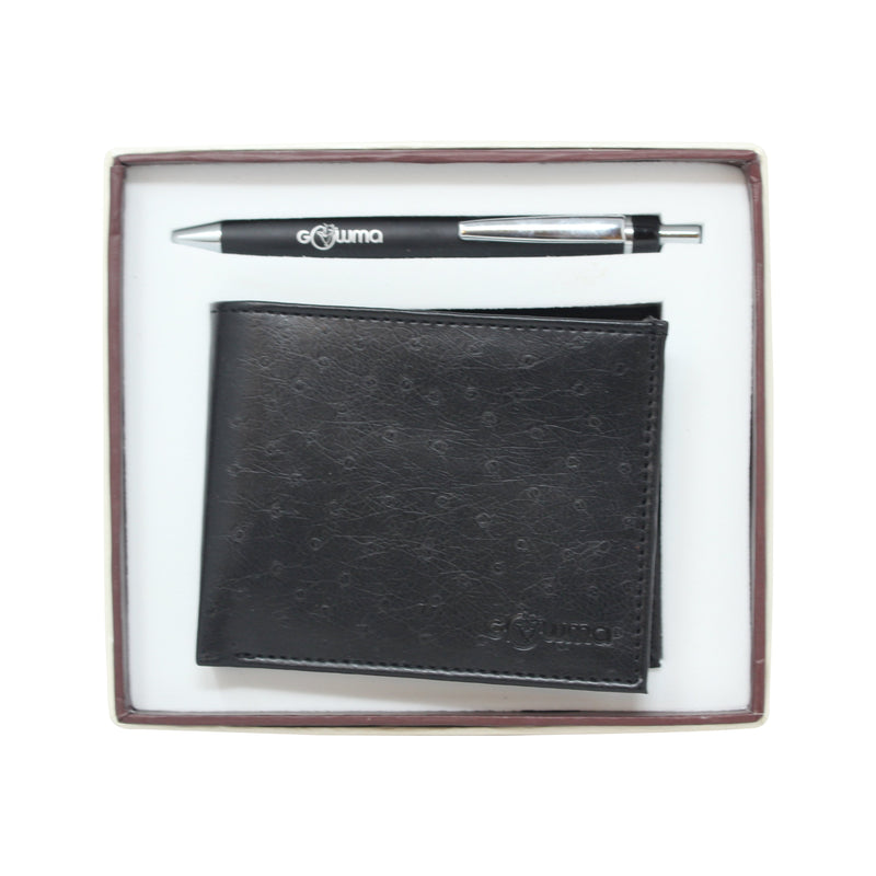 Gift Set (2 in 1) - Black - Gowma Non Leather Pvt Ltd