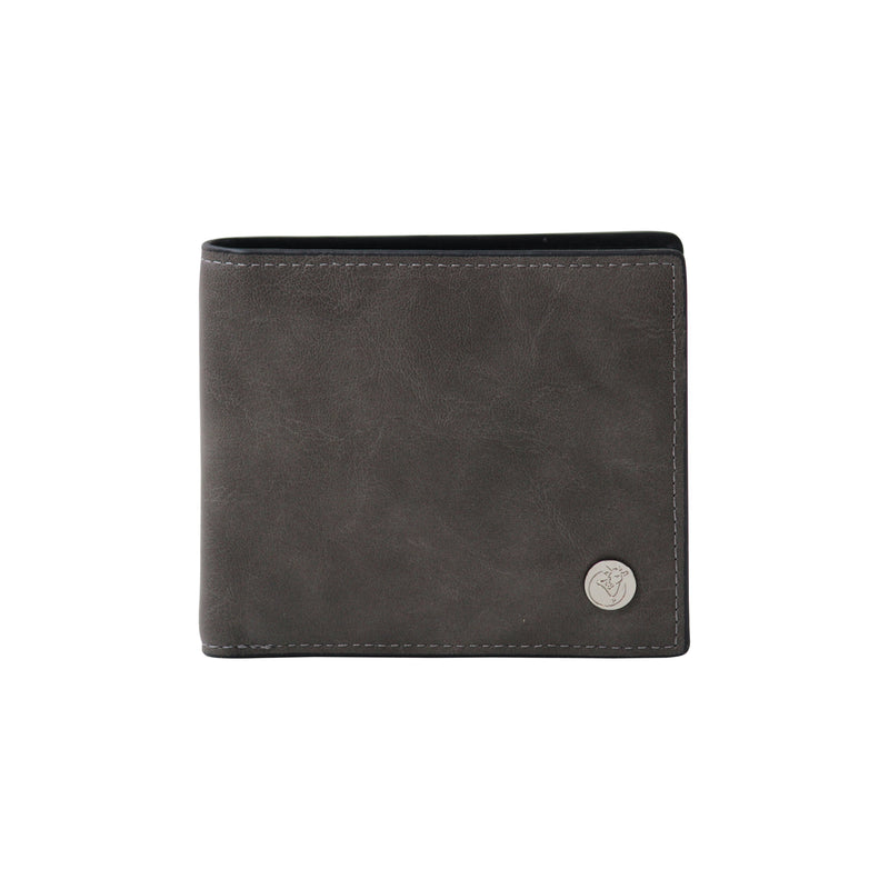 Textured Gray Wallet-gowma_non_leather