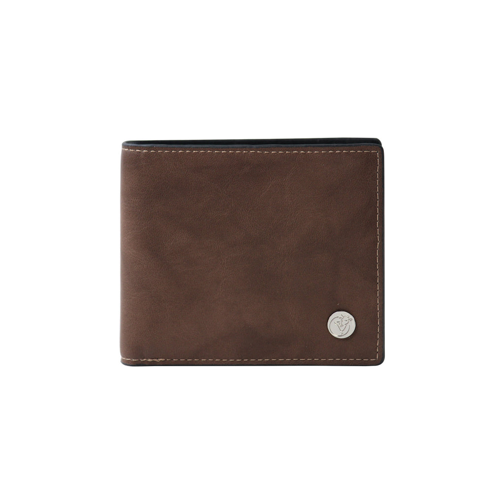 Textured Khaki Wallet-gowma_non_leather