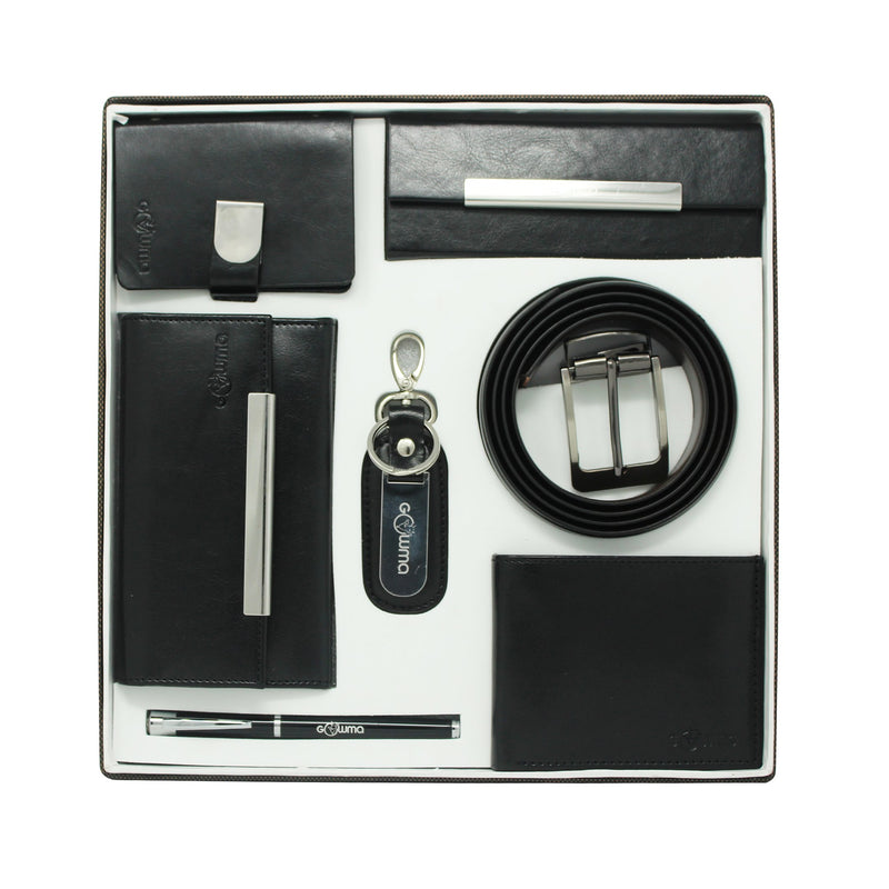 Gift set (7 in 1) - Black - Gowma Non Leather Pvt Ltd