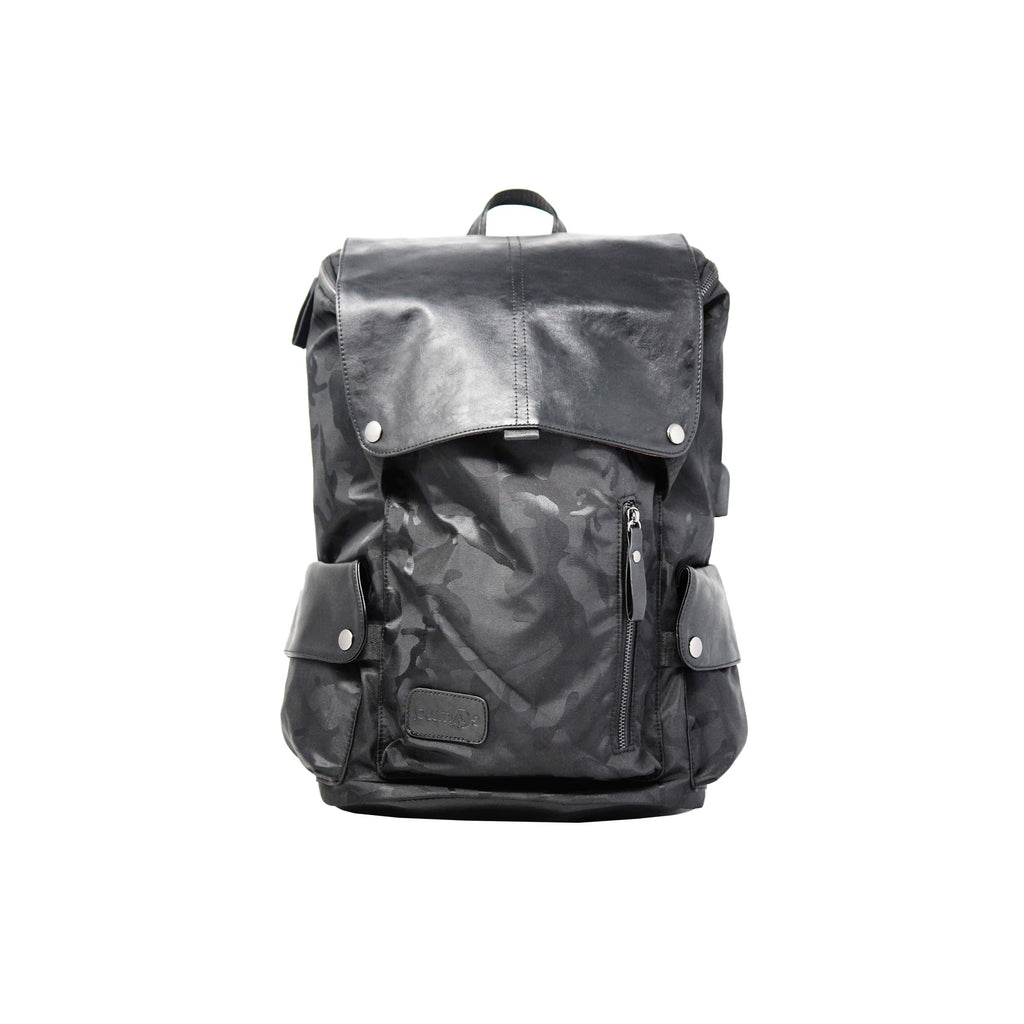 Tech military usb port backpack-gowma_non_leather