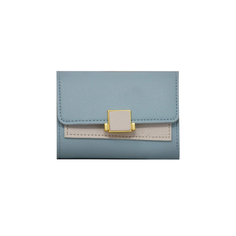 Clutch (DC) - Double color ladies clutch - Khaki