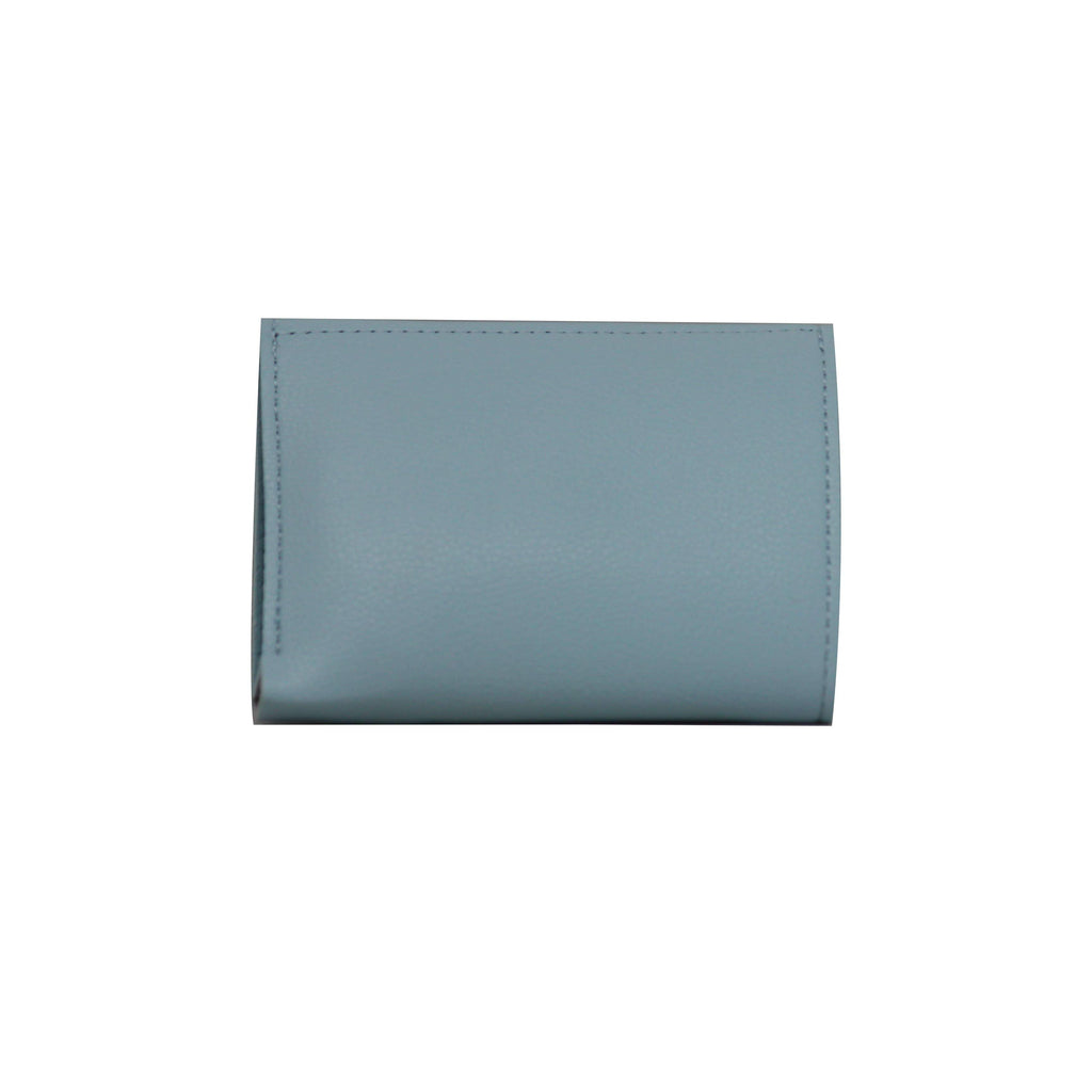 Clutch (DC) - Double color ladies clutch - Gray-gowma_non_leather