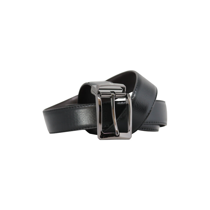 Reversable Buckle Belt Gray-gowma_non_leather