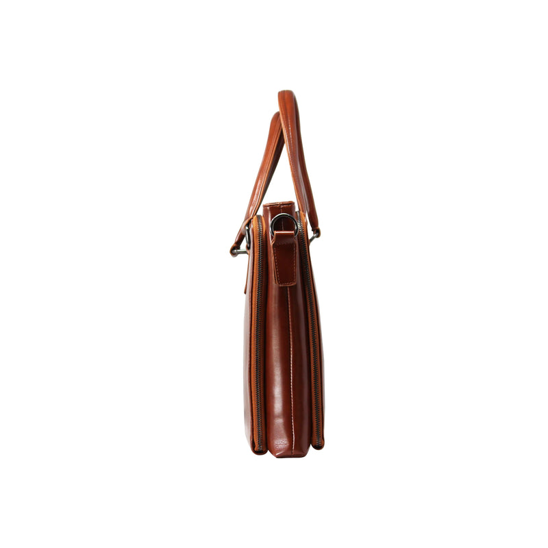 Laptop Bag (SQ-Brown)-gowma_non_leather