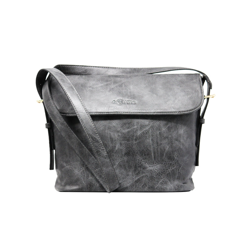 Sling bag(SB) - Grey - Gowma Non Leather Pvt Ltd
