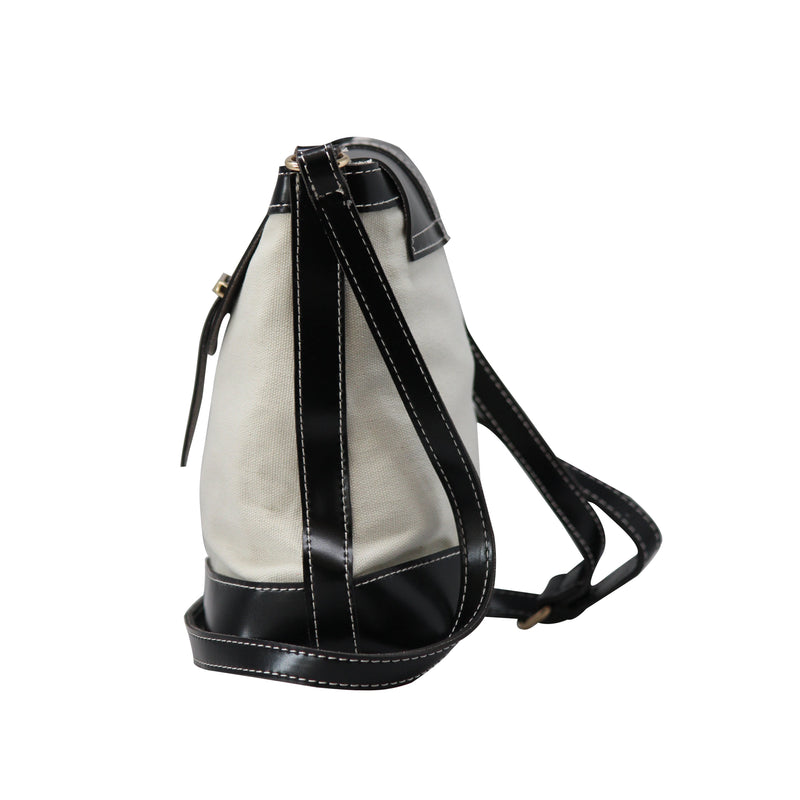 C Pattern Design  Sling Bag (CT) Black-gowma_non_leather