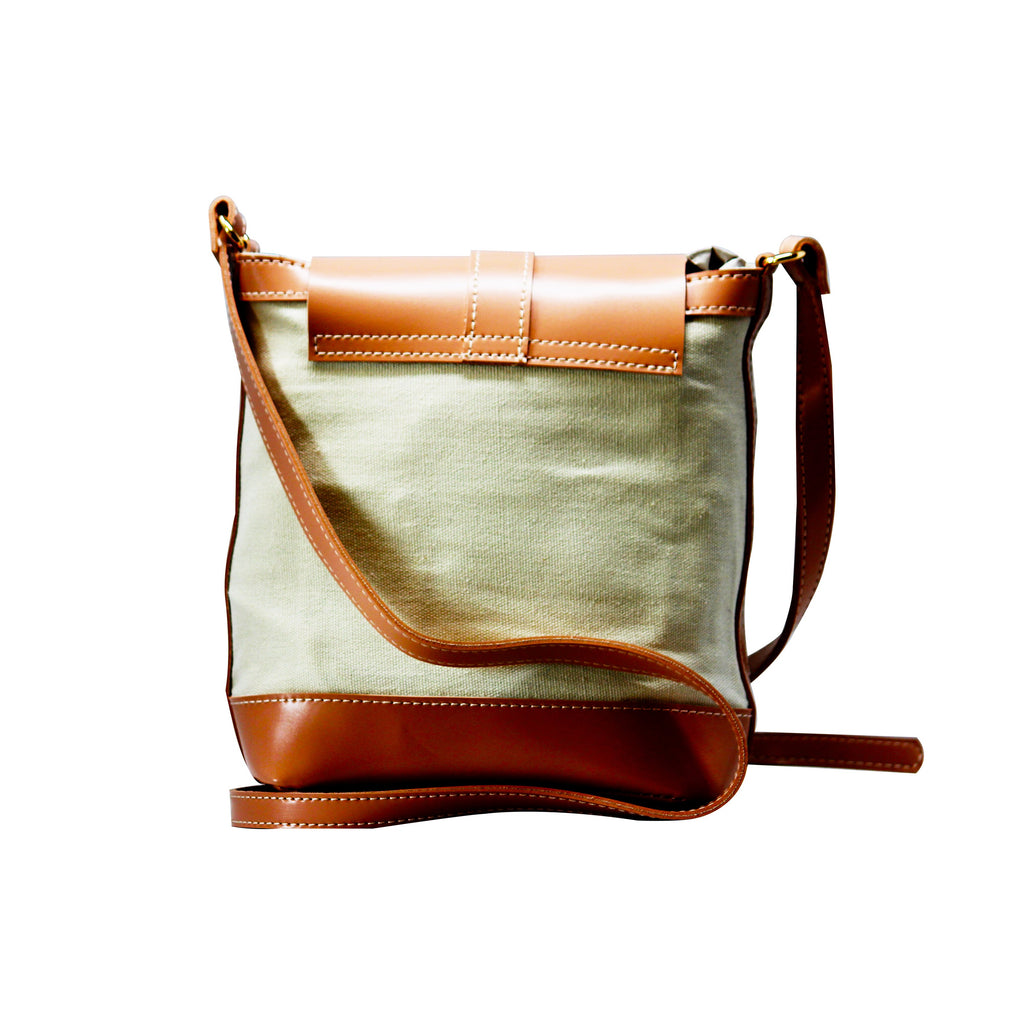 C Pattern Design  Sling Bag (CT) Brown-gowma_non_leather