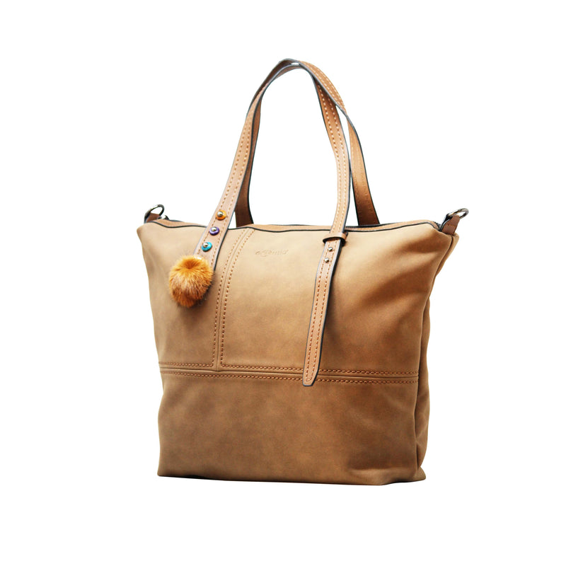 Handbag (FB-Coffee) - Gowma Non Leather Pvt Ltd