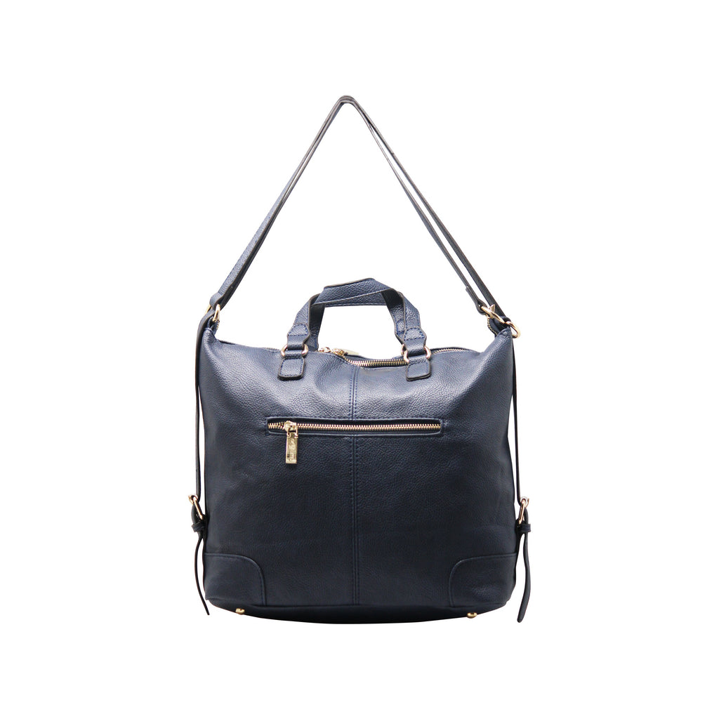 Handbag Cum Sling (VSS - Navy)-gowma_non_leather