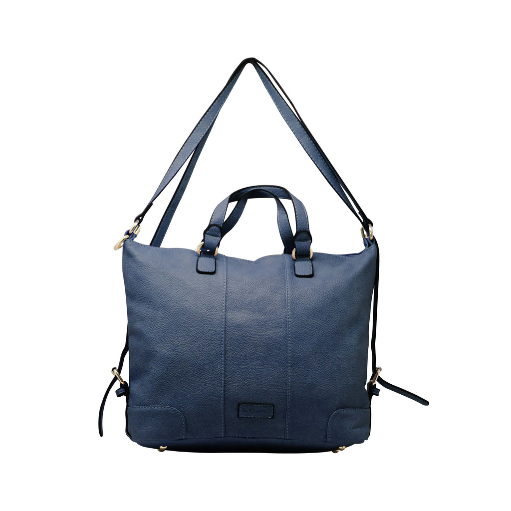 Handbag Cum Sling (VSS - Navy) - Gowma Non Leather Pvt Ltd