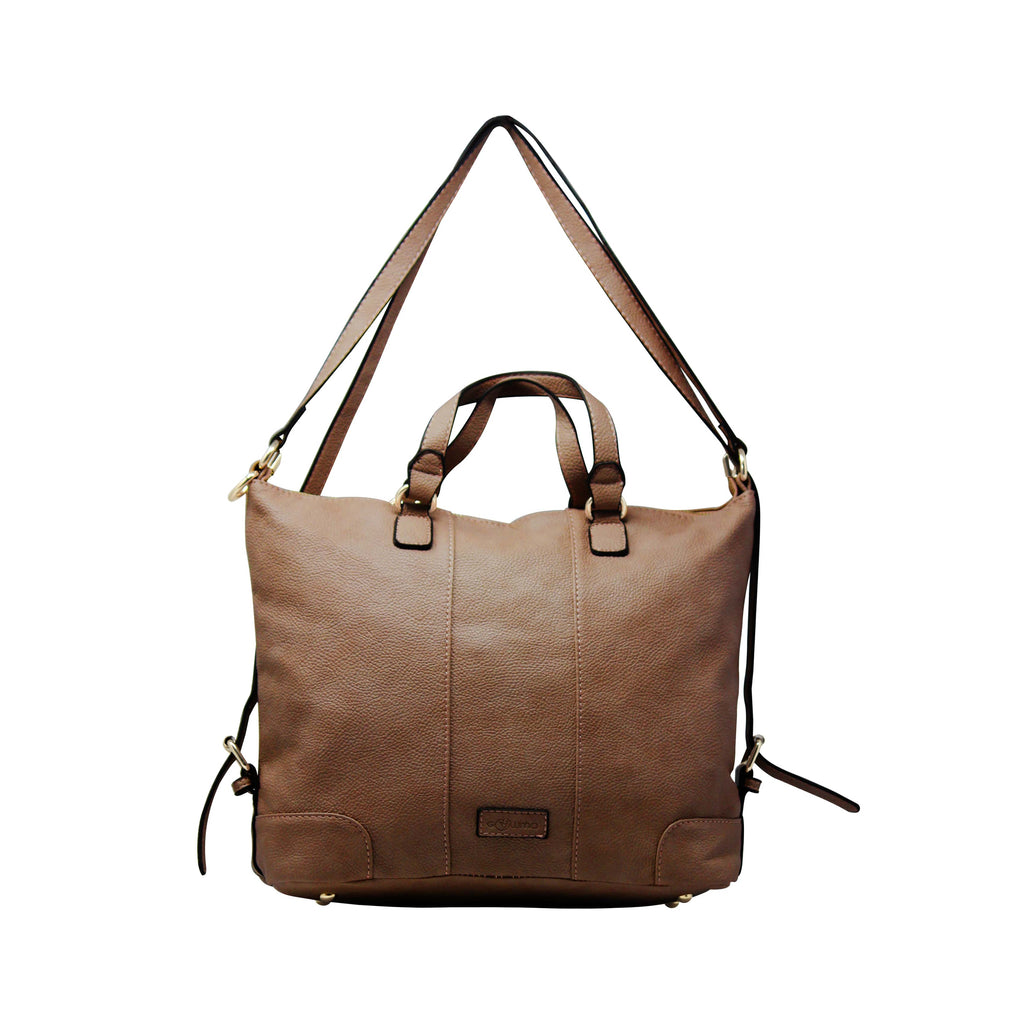 Handbag Cum Sling (VSS - Brown) - Gowma Non Leather Pvt Ltd
