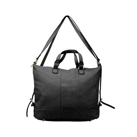 Sling Bag - Sling Cum Handle Bag Backpack (RS-Black)
