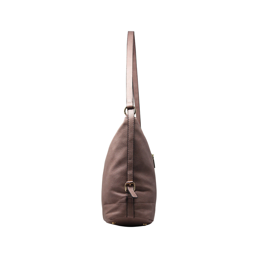 Handbag Cum Sling (VSS - Grey)-gowma_non_leather