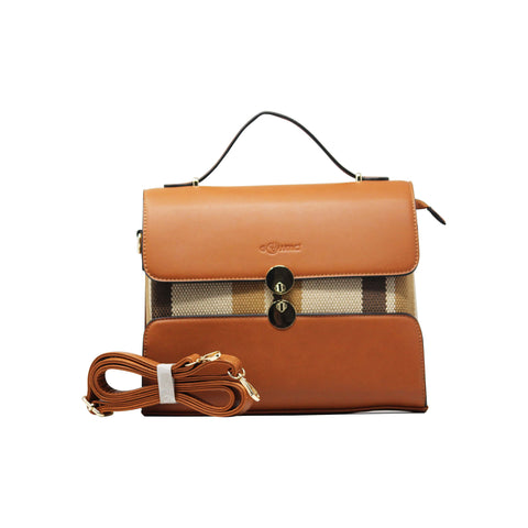 Handbag (ZS-Beige Coffee)