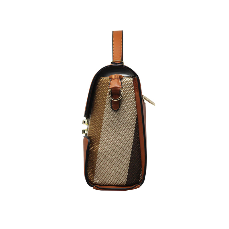 Handbag Cum Sling  (CB-Brown) - Gowma Non Leather Pvt Ltd