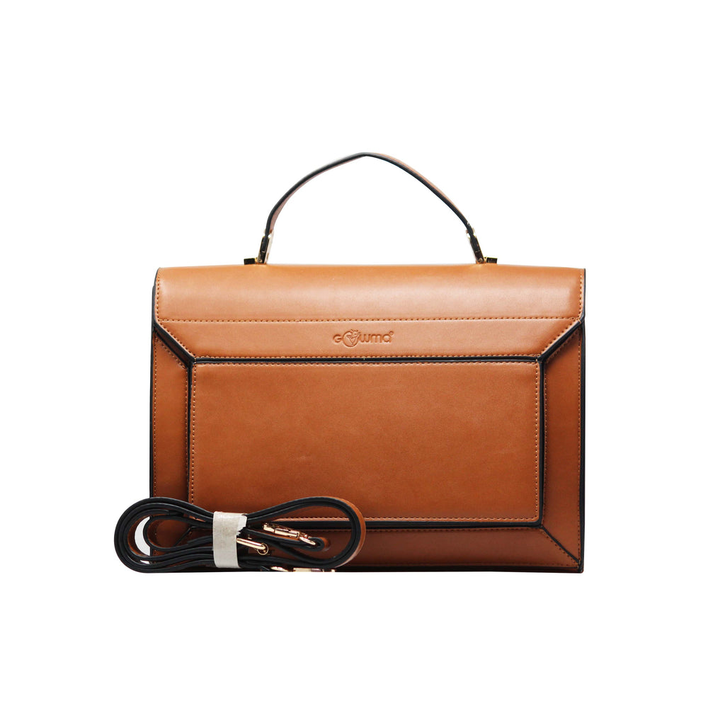 Handbag - Sling Cum Handbag (RS-Brown) - Gowma Non Leather Pvt Ltd
