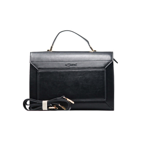 Handbag - Rectangular Boarded (RB-Black)