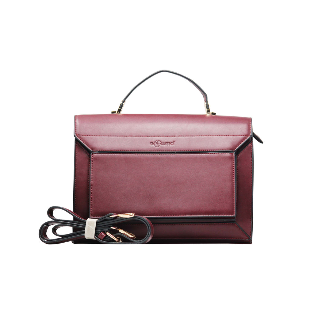 Handbag - Sling Cum Handbag (RS-Maroon) - Gowma Non Leather Pvt Ltd