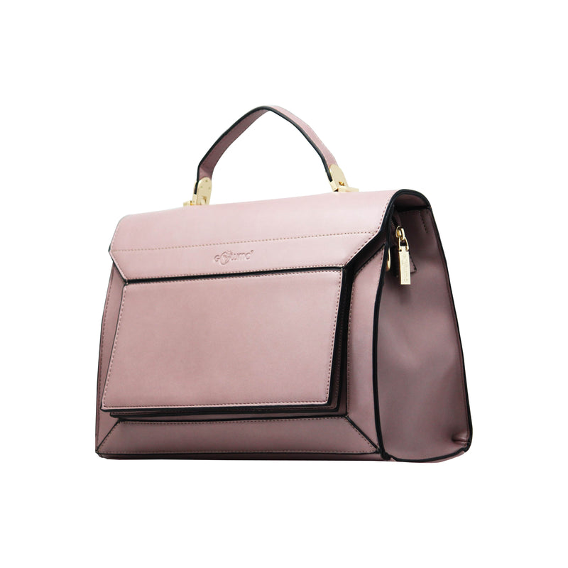Handbag  - Sling Cum Handbag (RS-Pink) - Gowma Non Leather Pvt Ltd