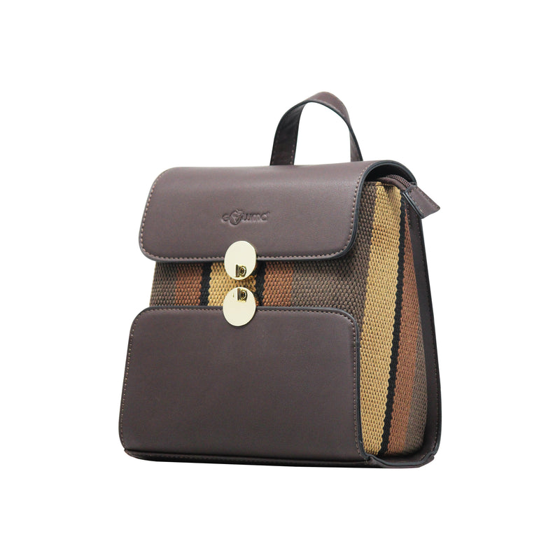 Backpack (DC) - Coffee-gowma_non_leather