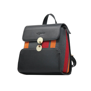 Backpack (DC) - Black-gowma_non_leather