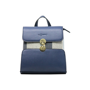 Backpack (DC) - Navy-gowma_non_leather