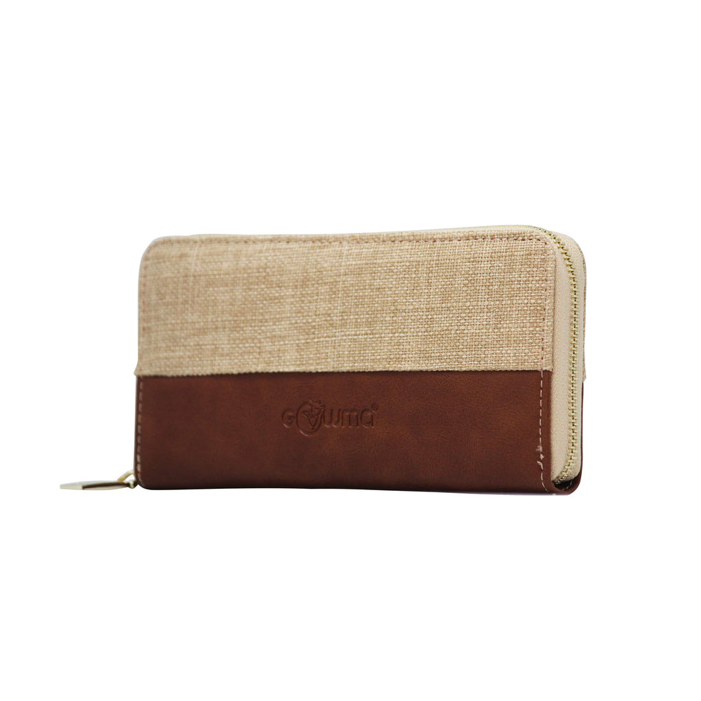 Clutch (FP-Khaki) - Gowma Non Leather Pvt Ltd