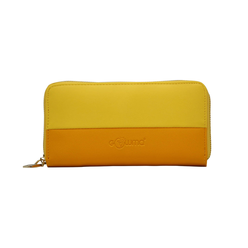 Clutch (DC - Yellow) - Wallet - Gowma Non Leather Pvt Ltd