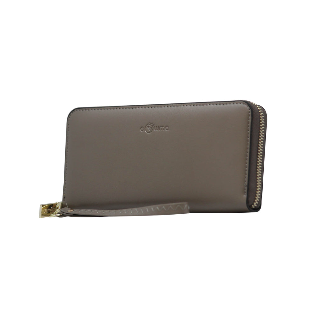 Clutch (WB) - Grey - Gowma Non Leather Pvt Ltd