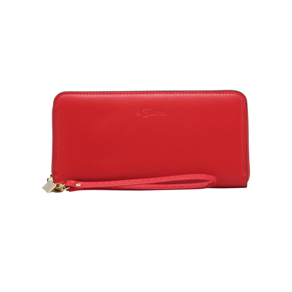 Clutch (WB) - Red - Gowma Non Leather Pvt Ltd