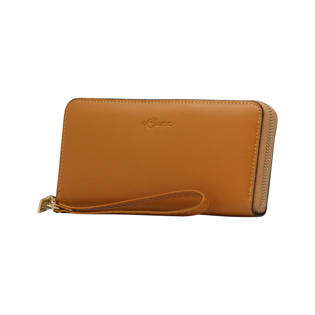 Clutch (WB) - Brown - Gowma Non Leather Pvt Ltd