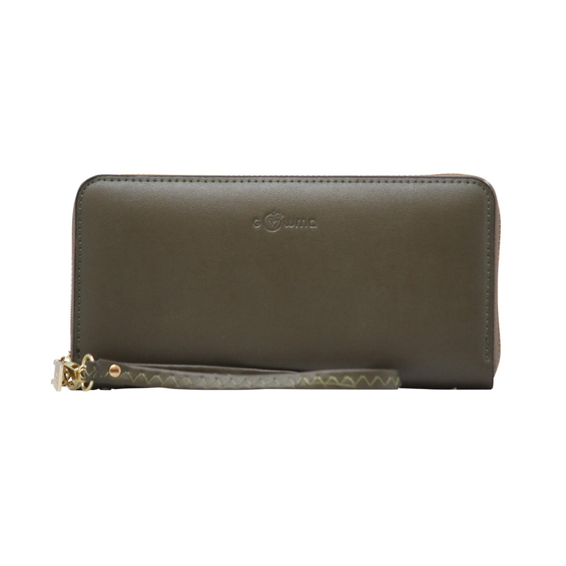 Clutch (WB) - Green - Gowma Non Leather Pvt Ltd